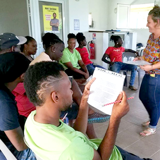Martinique youth taking action against cyberbullying